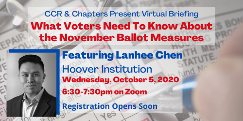 Oct 5 Briefing on Ballot Measures